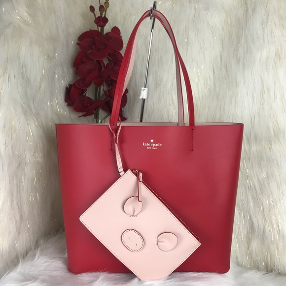 85d5309e98c 🐷SALE🐷Kate Spade Little Len Year Of The Pig Tote NWT
